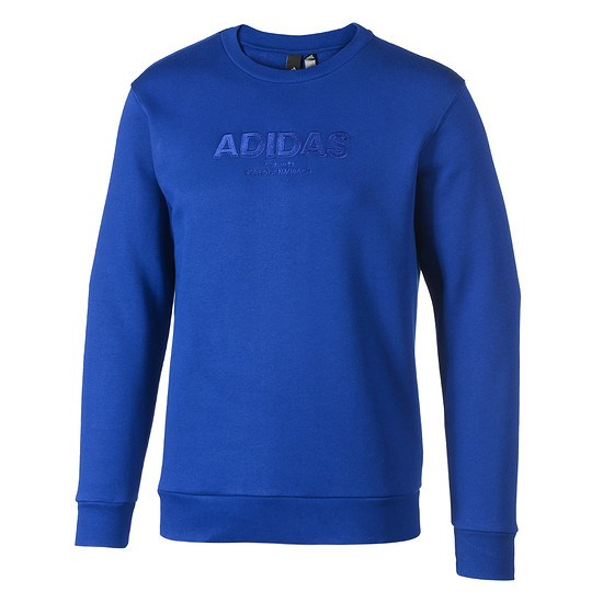 Adidas Sweatshirt ESS Allcap blau