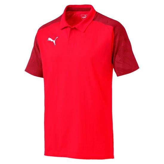Puma Poloshirt CUP Sideline Rot