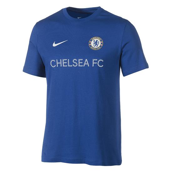 Nike FC Chelsea T-Shirt 2019/2020 Blau
