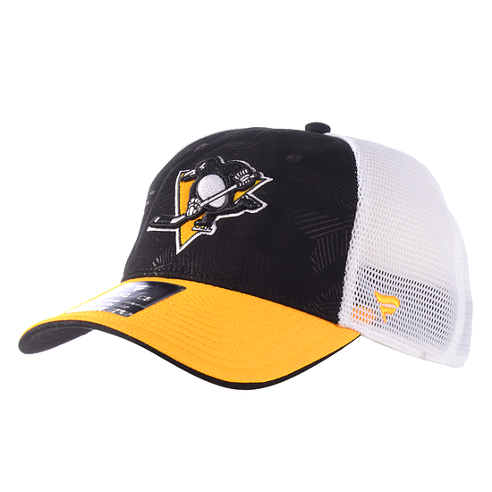 Fanatics Pittsburg Penguins Iconic Cap schwarz/weiß