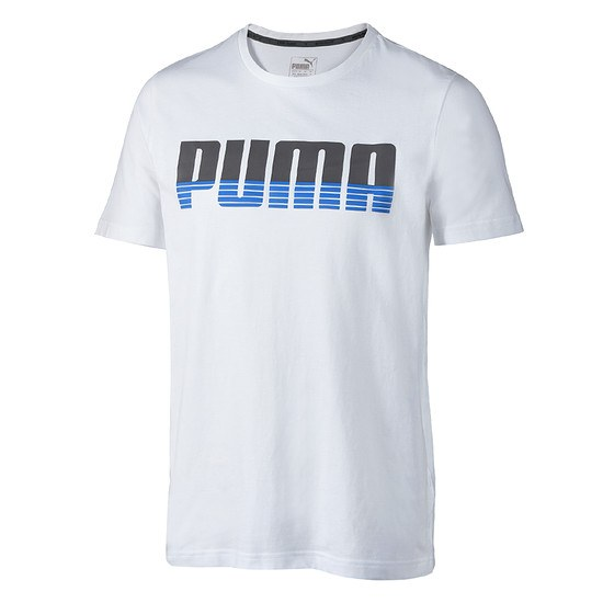 Puma T-Shirt Active Hero Weiß