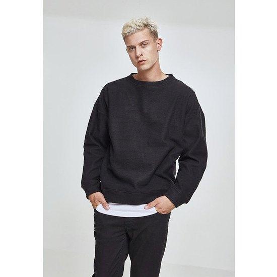 URBAN CLASSICS Sweatshirt Polar Fleece schwarz