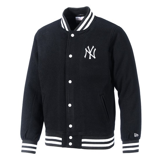 New Era New York Yankees Collegejacke Varsity schwarz