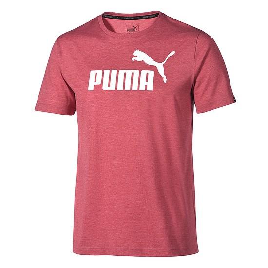Puma T-Shirt ESS No. 1 Bordeaux