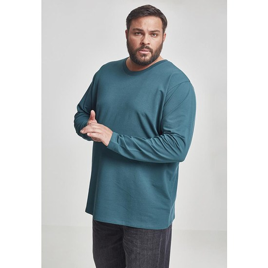 URBAN CLASSICS Longsleeve Stretch Terry jaspis
