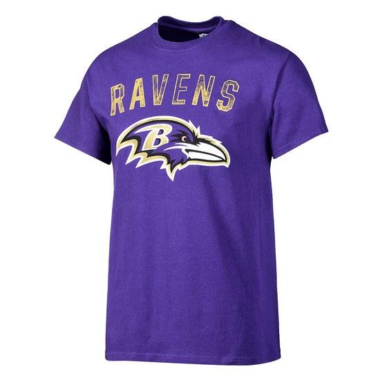 Majestic Athletic Baltimore Ravens T-Shirt Bradler lila