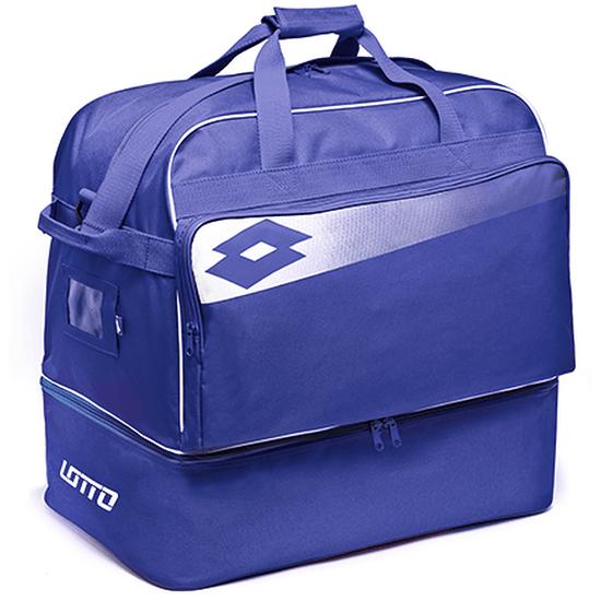 Lotto Fußballtasche Omega II prince blue/weiß