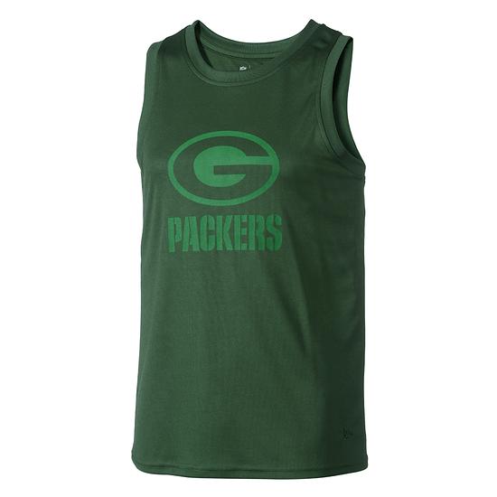 New Era Green Bay Packers Tanktop Tonal Logo grün