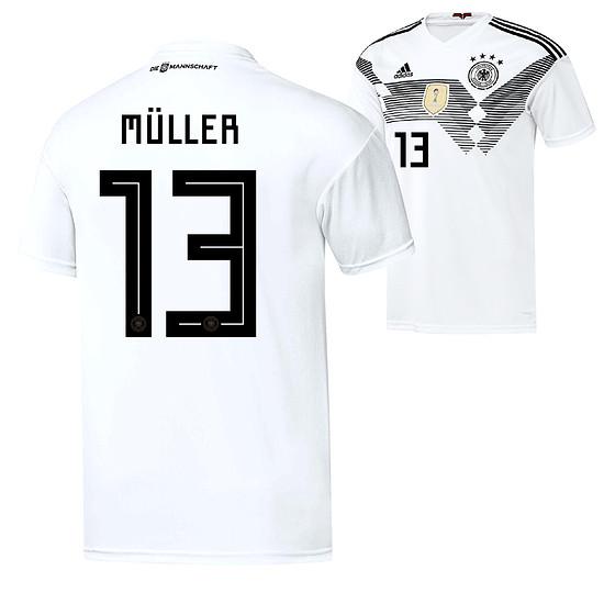 Adidas Deutschland WM 2018 DFB Trikot Heim MÜLLER Kinder