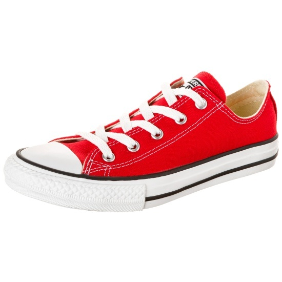 CONVERSE Sneaker Taylor All Star OX Canvas Kinder rot