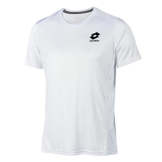 Lotto T-Shirt Smart Logo small weiß/schwarz