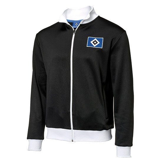 Hamburger SV Trainingsjacke Raute Schwarz