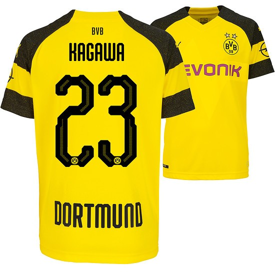 Puma Borussia Dortmund Heim Trikot KAGAWA 2018/2019 Kinder