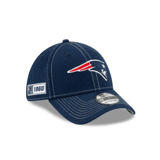 New Era New England Patriots Cap On Field 39THIRTY blau