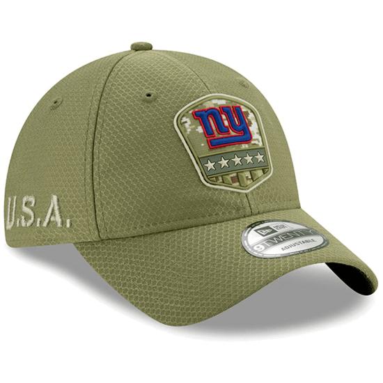 New Era New York Giants Cap Salute To Service 9TWENTY oliv