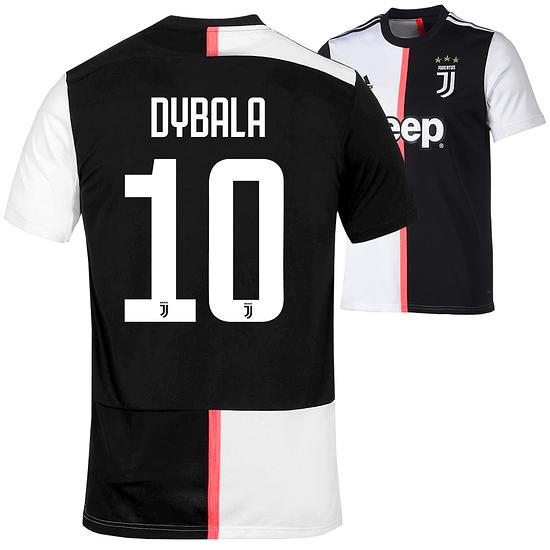 Adidas Juventus Turin Trikot DYBALA 2019/2020 Heim Kinder