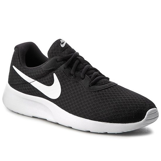 Nike Herren Sneaker Tanjun Schwarz/Weiß