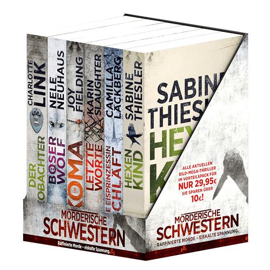 BILD Mörderische Schwestern Die 11. MEGA-Thriller-Edition (6 Bücher)
