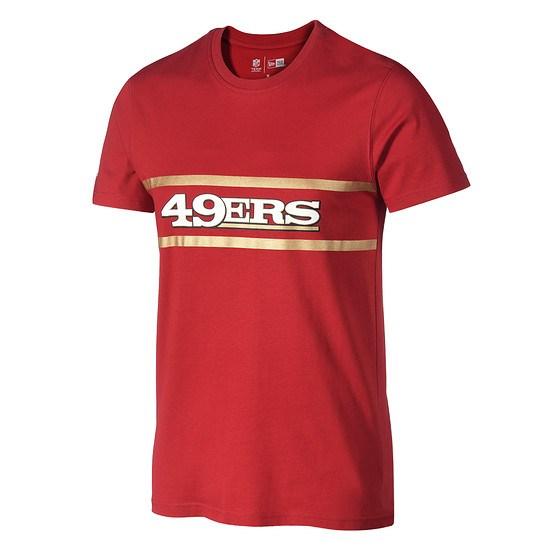 New Era San Francisco 49ers T-Shirt Fan F O R rot