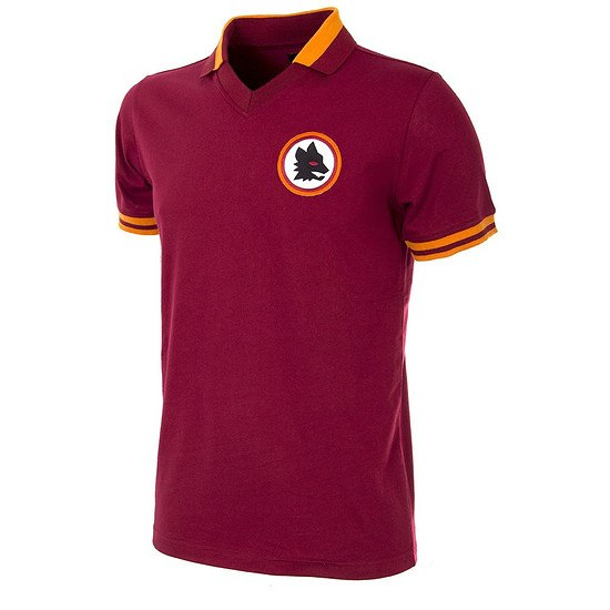 Copa AS Rom 1978/79 Short Sleeve Retro Shirt Heim