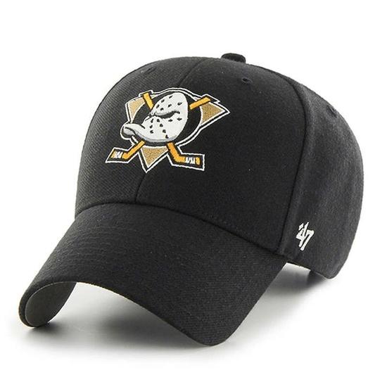 47 Brand Anaheim Ducks Cap MVP schwarz