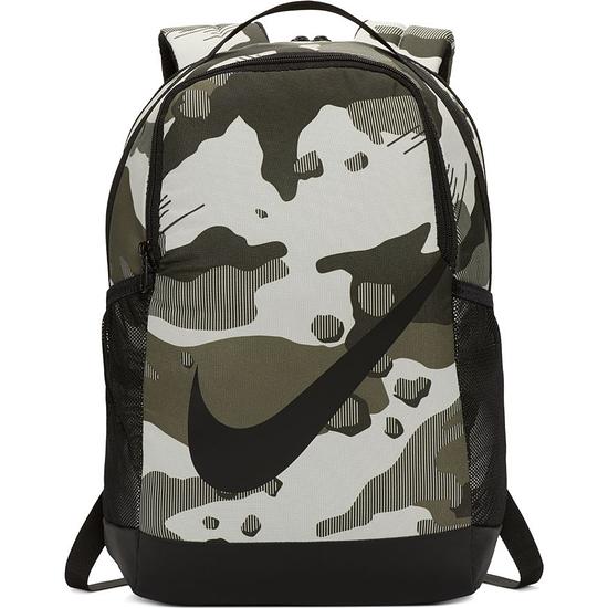 Nike Rucksack Camo Grau