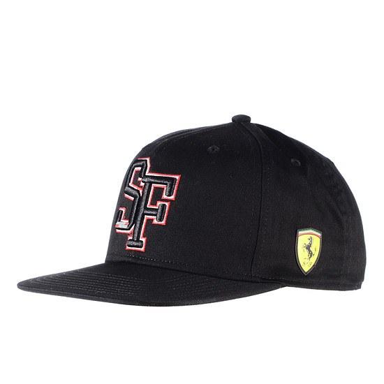 Ferrari Cap Scuderia Team schwarz