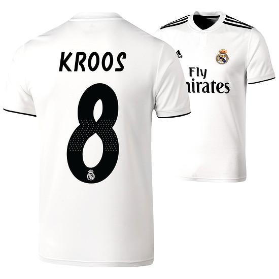 Adidas Real Madrid Heim Trikot KROOS 2018/2019 Kinder