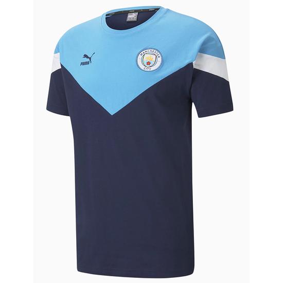 Puma Manchester City T-Shirt Show Blau