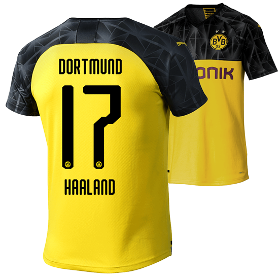 Puma Borussia Dortmund CL Trikot HAALAND 2019/2020