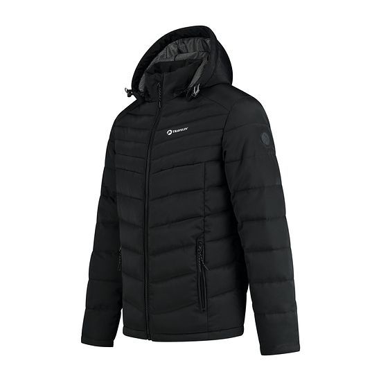 TRAVELIN OUTDOOR Winterjacke Grenivik schwarz