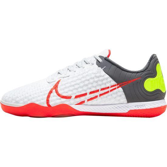 Nike Fußballschuh React Gato Indoor weiß/neonrot