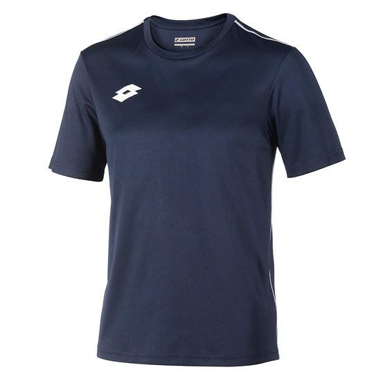 Lotto T-Shirt Delta Jersey PL navy/weiß