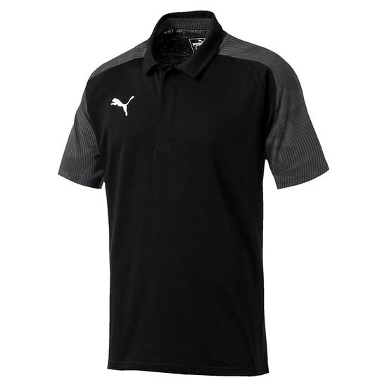 Puma Poloshirt CUP Sideline Grau