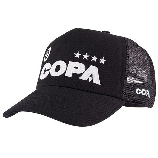 Copa Cap Campioni Trucker schwarz