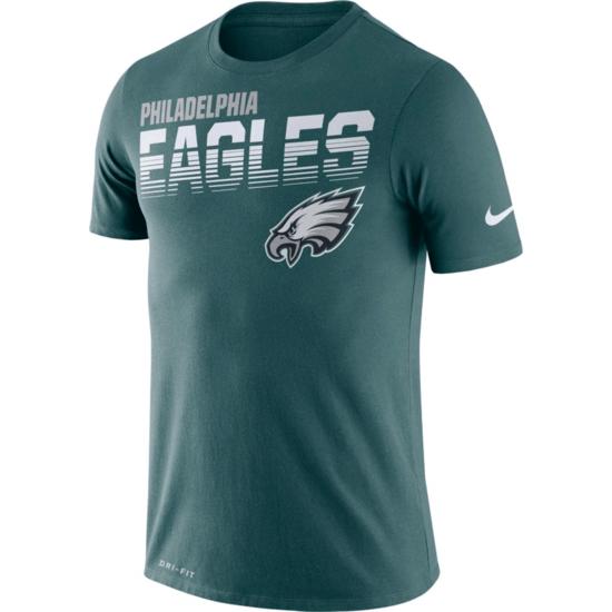 Nike Philadelphia Eagles T-Shirt NK 2019/2020 Grün