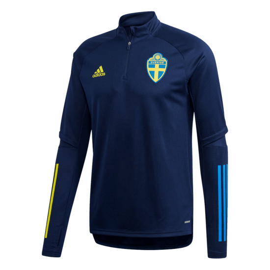 Adidas Schweden Training Top EM 2020 Blau