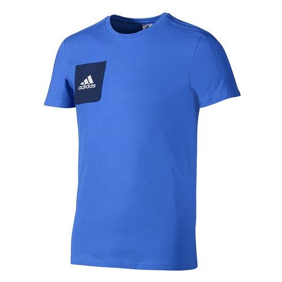 Adidas T-Shirt Tiro Blau