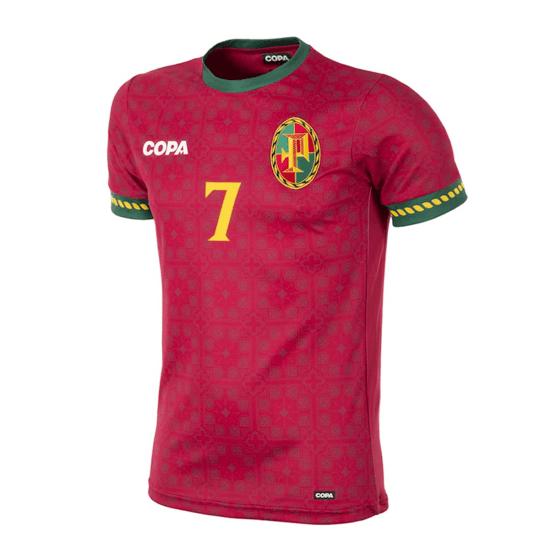 Copa Fußballshirt Portugal rot