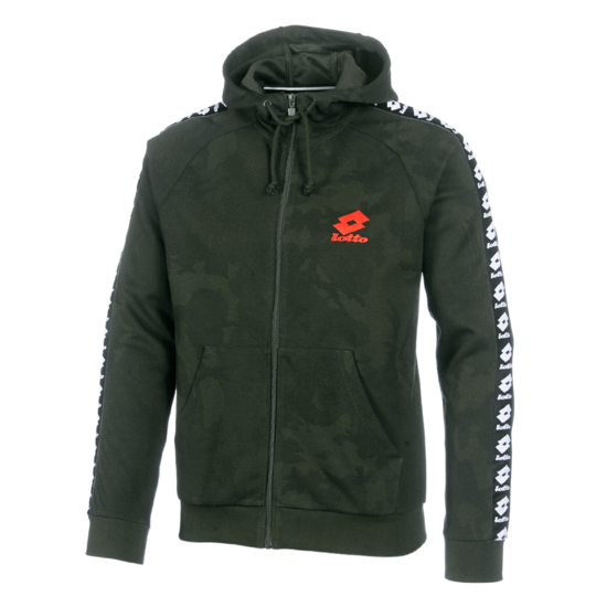 Lotto Kapuzenjacke Athletica III HD PRT PL green resin