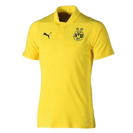 Puma Borussia Dortmund Poloshirt Casual gelb