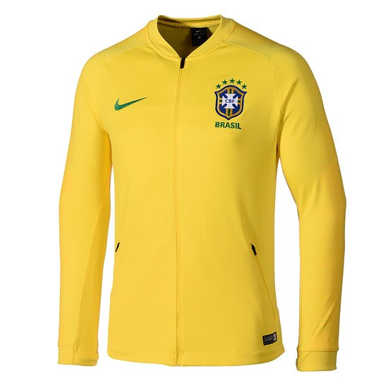 Nike Brasilien Anthem Jacket Gold