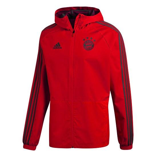 Adidas FC Bayern München Regenjacke Rot