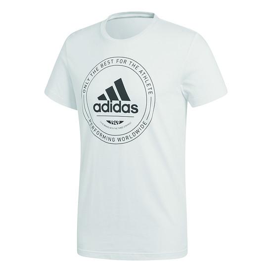 Adidas T-Shirt ADI Emblem weiß