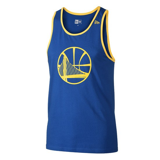 New Era Golden State Warriors Tanktop Pop Logo blau
