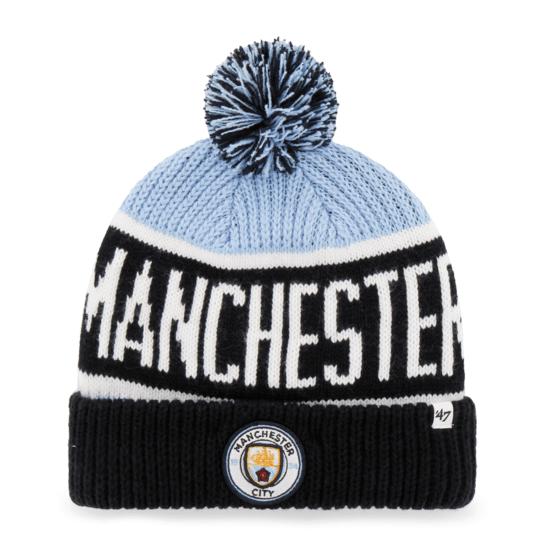 47 Brand Manchester City Beanie Calgary blau