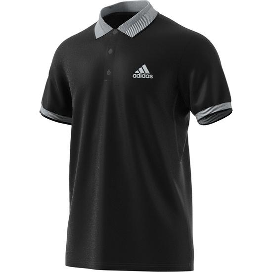 Adidas Poloshirt CLUB SOLID Schwarz