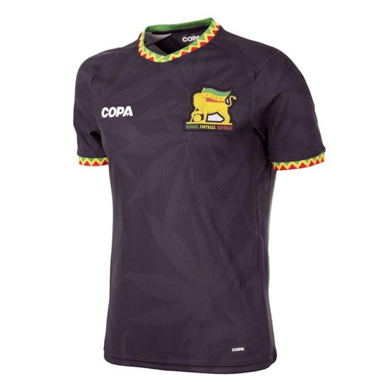 Copa Fußballshirt Jamaika schwarz