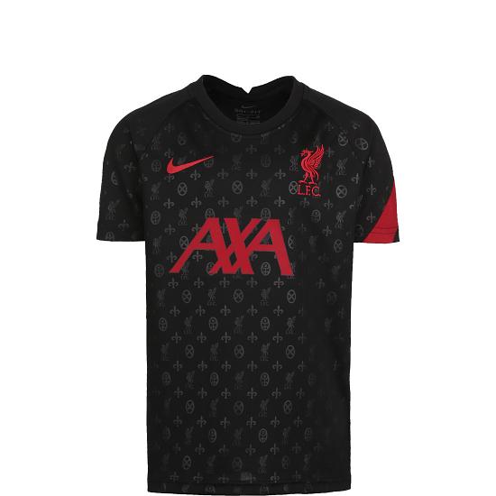Nike FC Liverpool Trainingsshirt Dry Kinder schwarz/rot