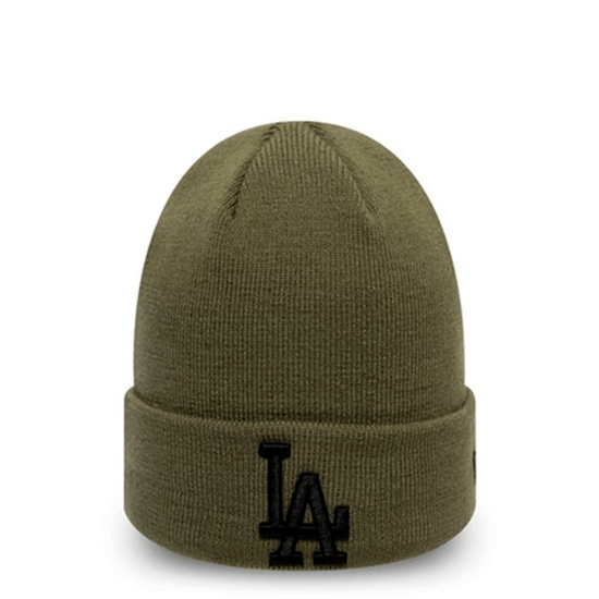 New Era Los Angeles Dodgers Beanie League Essential Cuff grün